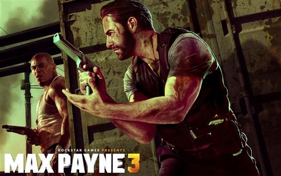 Обои Max Payne 3 широком