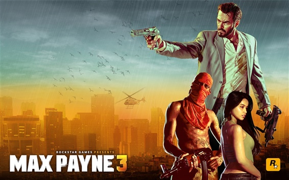 Wallpaper Max Payne 3