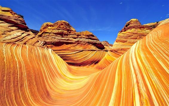 Fondos de pantalla Naturaleza roja rocas banda