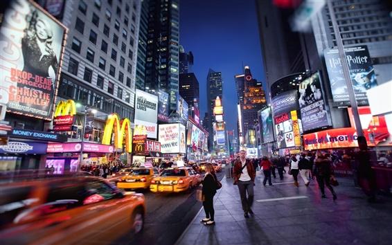 Wallpaper New York night