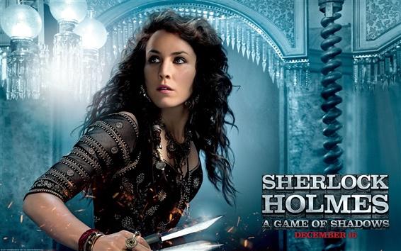 Wallpaper Noomi Rapace in Sherlock Holmes 2