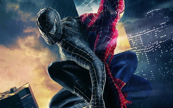 Wallpaper Two Spider-Man