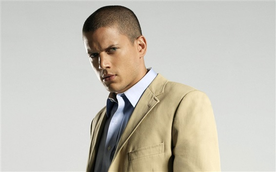 Wallpaper Wentworth Miller as Michael Scofield in Prison Break