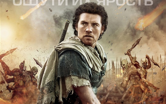 Papéis de Parede Wrath of the Titans poster do filme