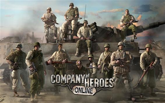 Fond d'écran Company of Heroes en ligne