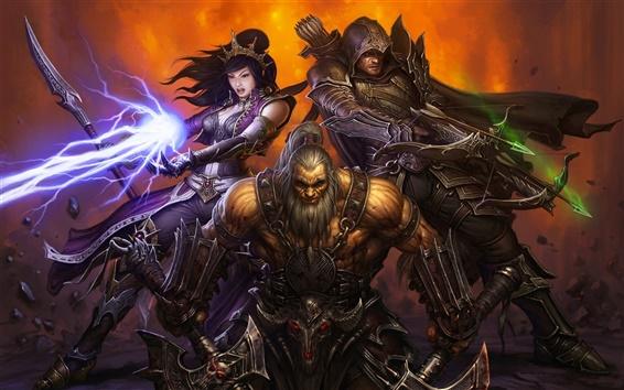Wallpaper Diablo III wide