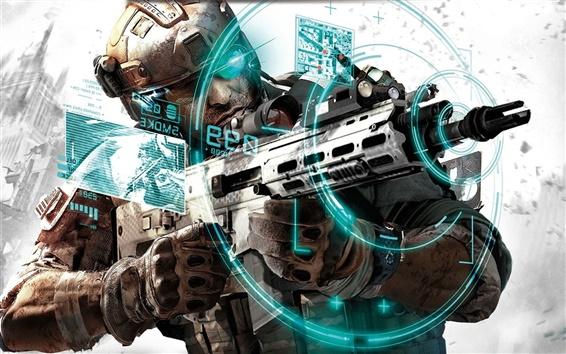 Wallpaper Ghost Recon: Future Soldier HD