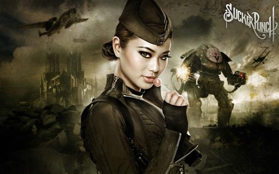 Hintergrundbilder Jamie Chung in Sucker Punch Film HD