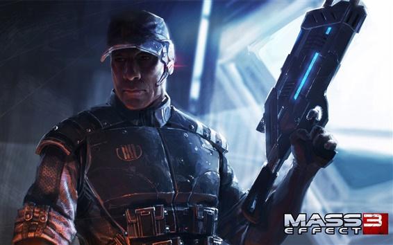 Wallpaper Mass Effect 3 wide