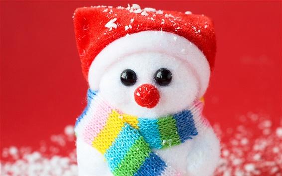 Wallpaper Snowman souvenir