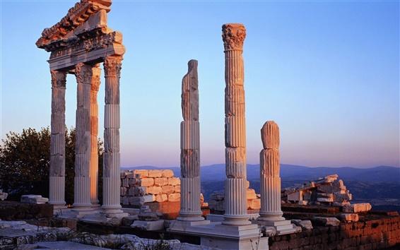 Wallpaper Turkish palace ruins