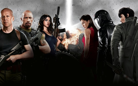 Wallpaper 2012 G.I. Joe: Retaliation movie