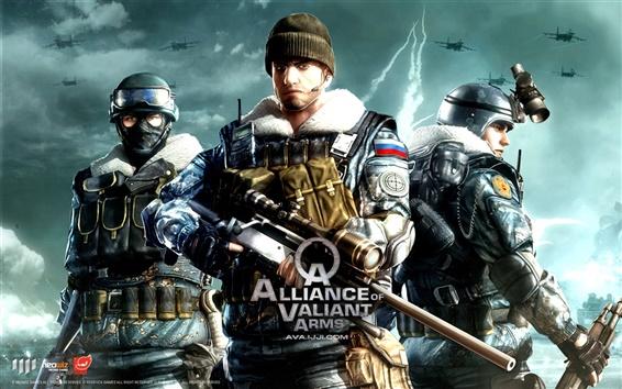 Обои Альянс доблестный оружия