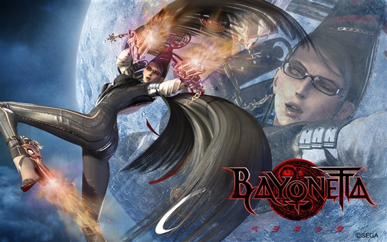Обои Bayonetta