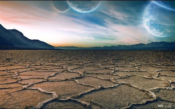 Fondos de pantalla Hermoso cielo del planeta