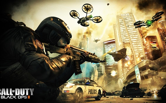 Fondos de pantalla Call of Duty: Negro Ops II HD