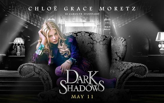 Papéis de Parede Chloe Moretz em Dark Shadows