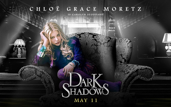 Wallpaper Chloe Moretz in Dark Shadows