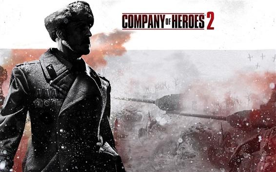 Fond d'écran Company of Heroes 2 de large