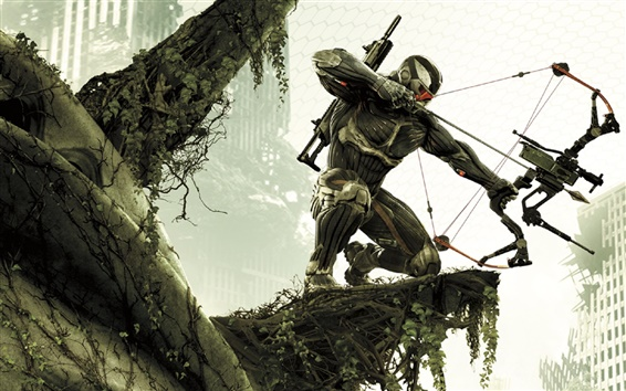 Wallpaper Crysis 3 HD game