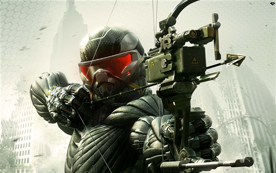 Wallpaper Crysis 3 game wide