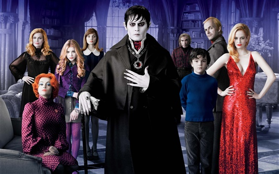 Wallpaper Dark Shadows HD