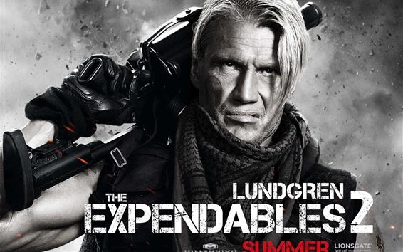Fondos de pantalla Dolph Lundgren en The Expendables 2