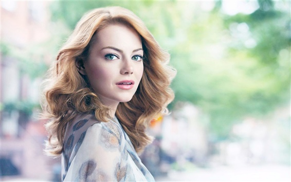 Wallpaper Emma Stone 01