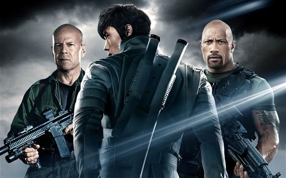 Wallpaper G.I. Joe: Retaliation 2012