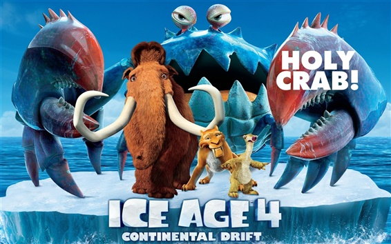 Wallpaper Ice Age 4: Continental Drift 2012