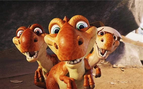 Fondos de pantalla Ice Age: Dawn of the Dinosaurs