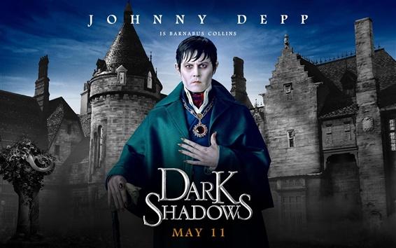 Papéis de Parede Johnny Depp em Dark Shadows