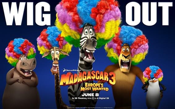 Papéis de Parede Madagascar 3 HD