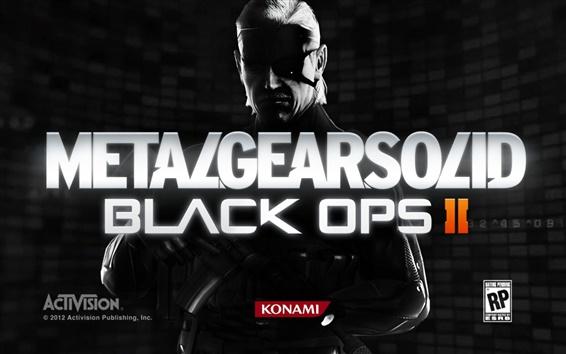 Обои Metal Gear Solid 2: Black Ops