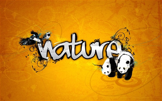 Wallpaper Nature theme design
