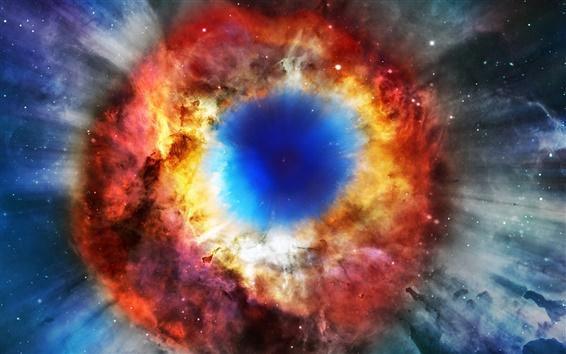 Wallpaper Nebula explosion