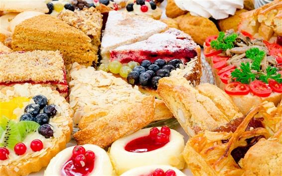 Papéis de Parede bolos doces