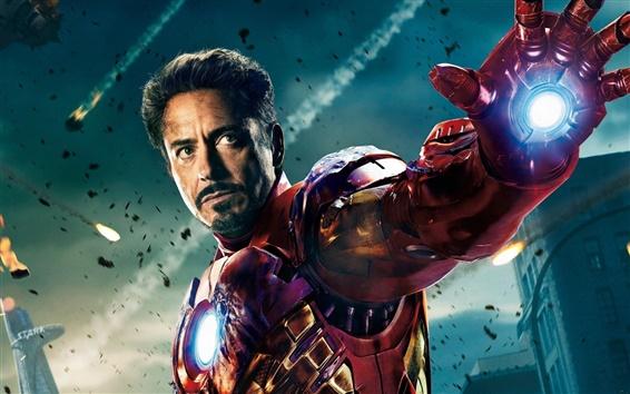Fondos de pantalla The Avengers Iron Man 2012