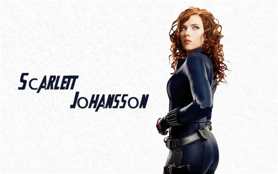 Fondos de pantalla Los Vengadores Scarlett Johansson