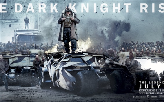 Fond d'écran The Dark Knight Rises gamme