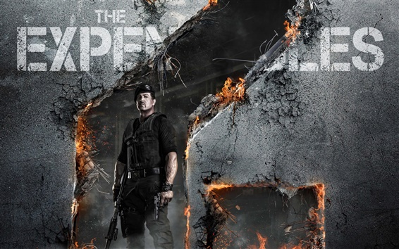 Wallpaper The Expendables 2 HD