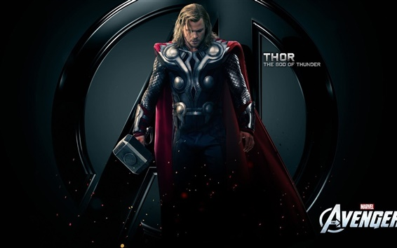 Fondos de pantalla Thor, el dios del trueno, Los Vengadores