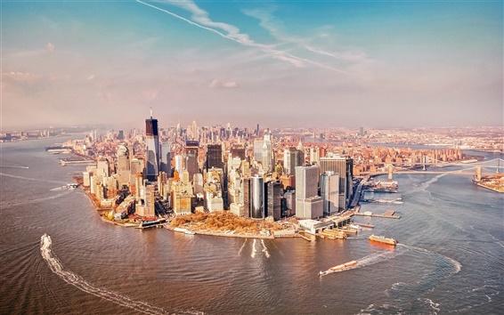 Wallpaper USA, New York Manhattan
