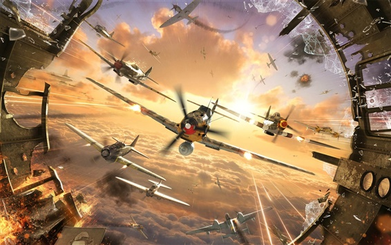 Wallpaper World of Warplanes