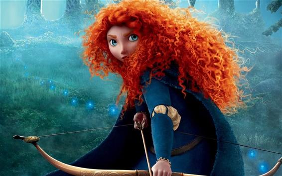 Fond d'écran 2012 film Brave
