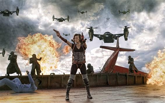 Fondos de pantalla 2012 Resident Evil: Retribution