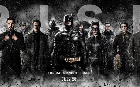 Fond d'écran 2012 Le Dark Knight Rises