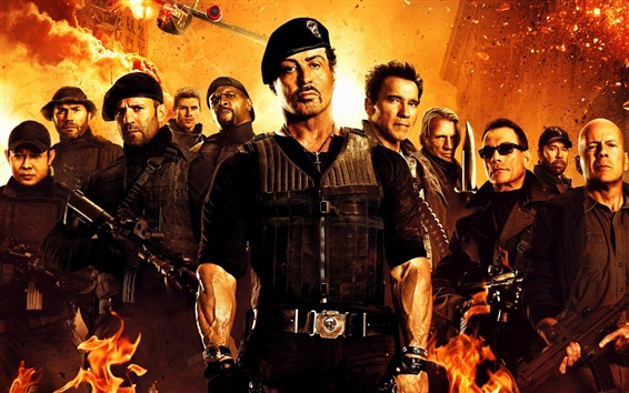 Wallpaper 2012 The Expendables 2
