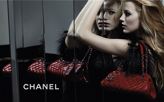 Wallpaper Brand Chanel ads