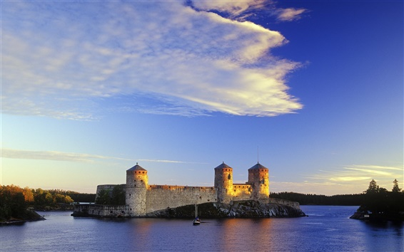 Обои Замок в Финляндии